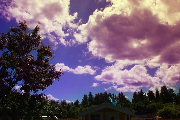 Bild redigerad med färgbalans