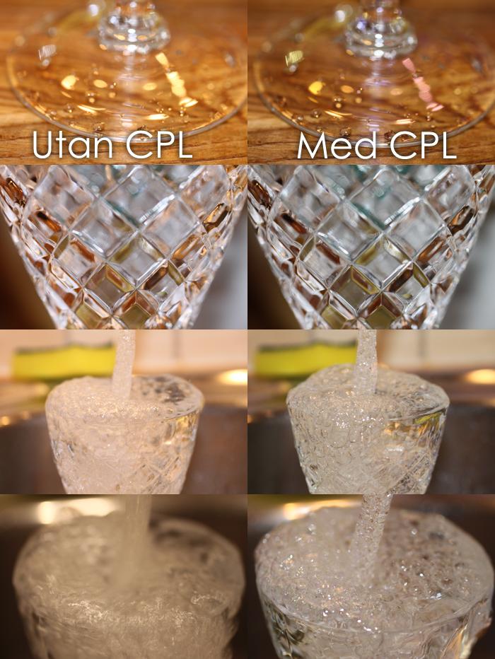 Vattenfotografering med CPL Filter